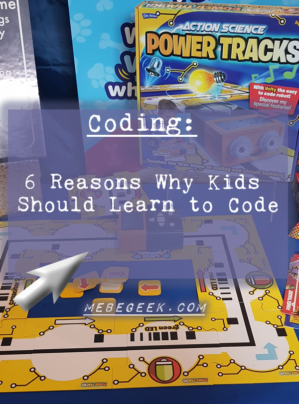 6 reasons why Kids should learn to code - pin