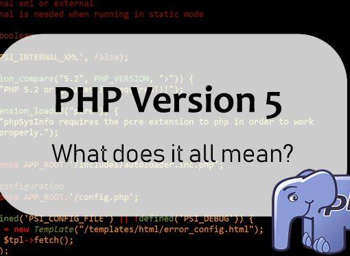 PHP Version 5 - FI
