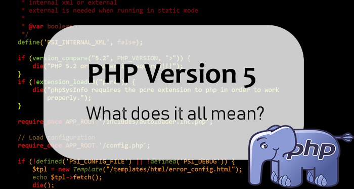 PHP Version 5 - FI