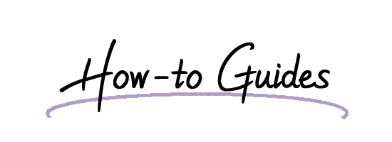 How to Guides title