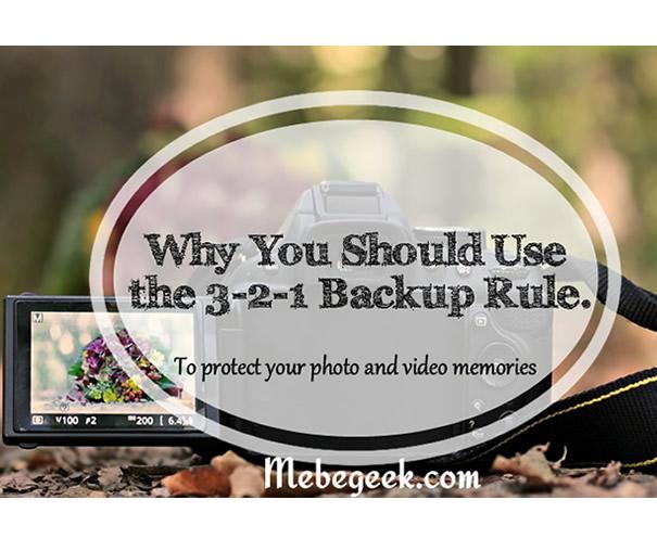 3-2-1 Rule- Pinterest