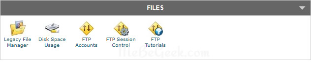 cPanel FTP options