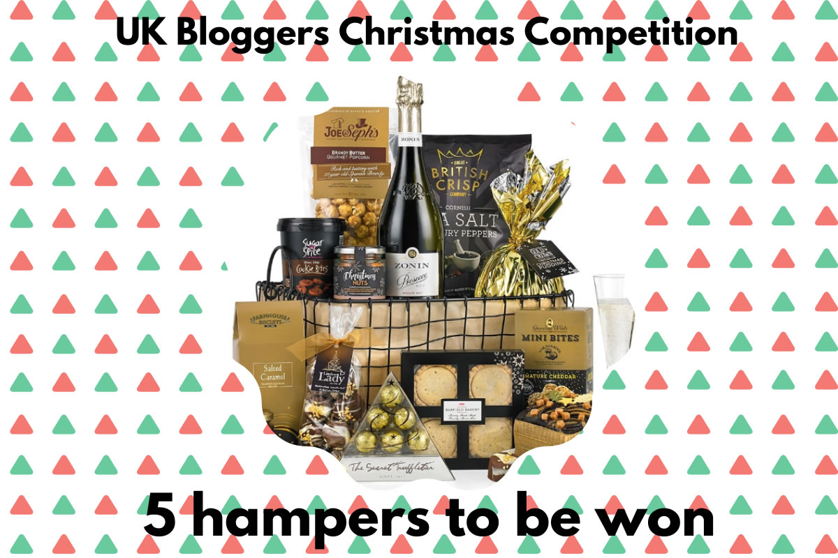 UK Blogger Xmas Giveaway 5 hampers to win