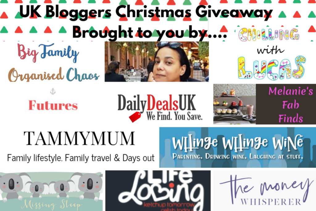Uk Bloggers Xmas Giveaway 3